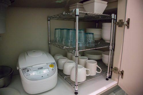 炊飯器・食器